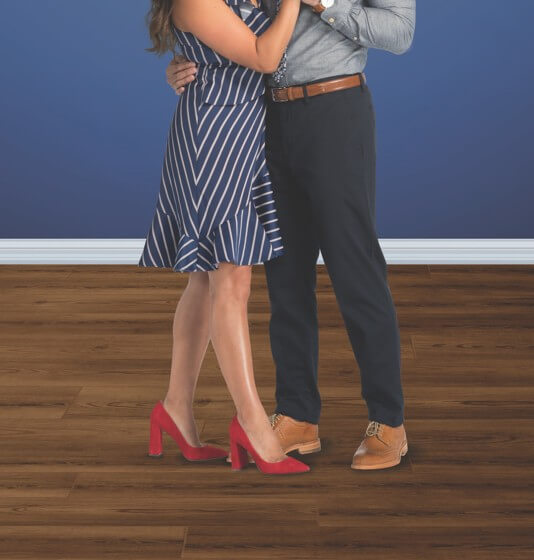 Couple dancing | Flooring Concepts