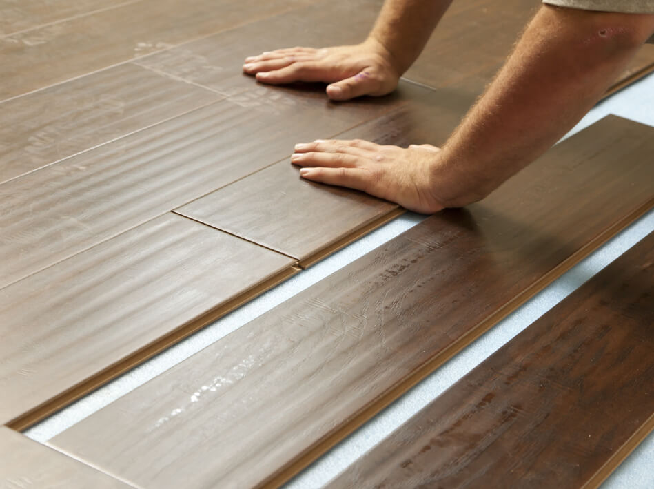 Laminate installation North Olmsted, OH | Flooring Concepts