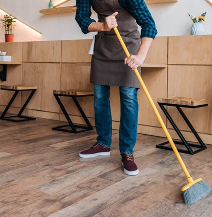 Floor cleaning | Flooring Concepts