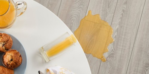 Juice spill on floor | Flooring Concepts