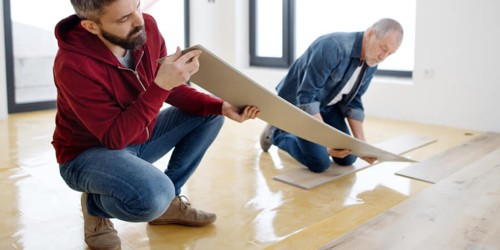 Vinyl installation North Olmsted, OH | Flooring Concepts