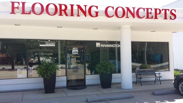 Flooring concepts store front | Flooring Concepts