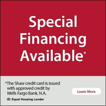 Special financing available banner | Flooring Concepts
