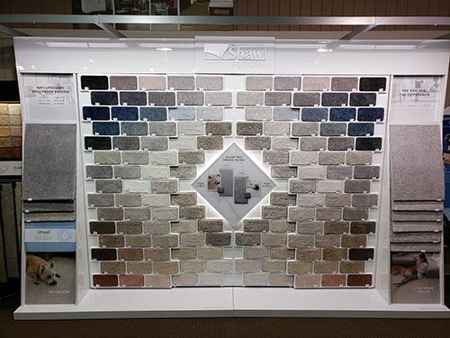 Shaw carpet display | Flooring Concepts