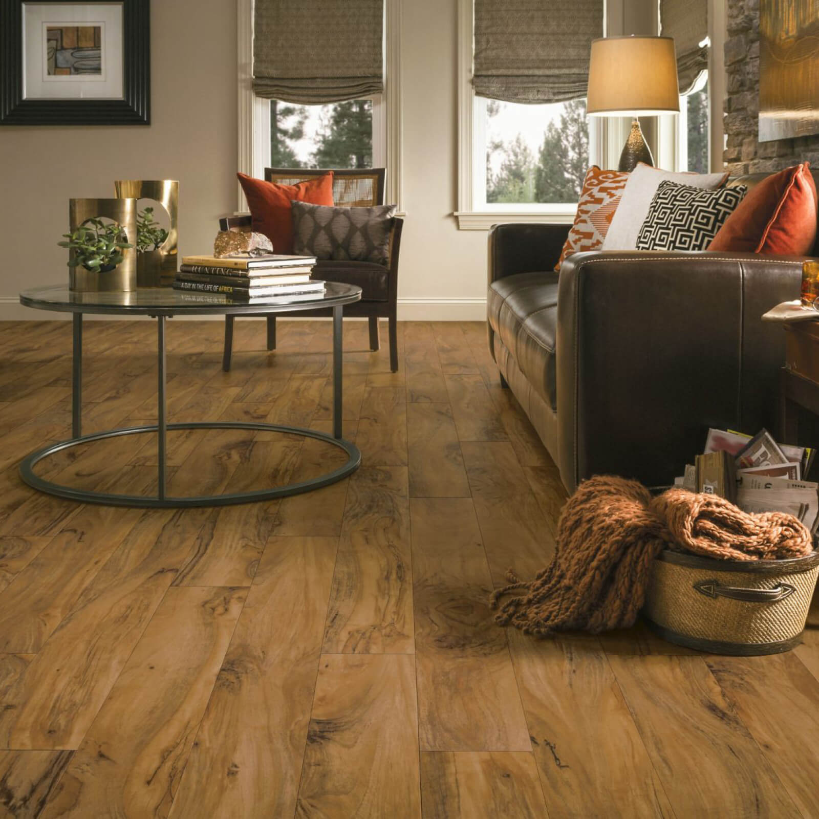 Luxury Vinyl flooring in living room | Flooring Concepts