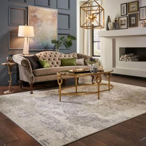 Area Rug in living room | Flooring Concepts