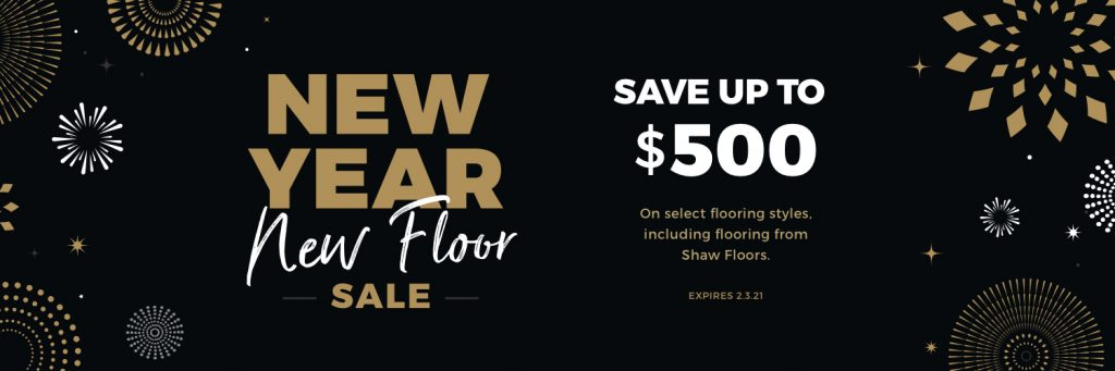 New Year New Floors Sale | Flooring Concepts
