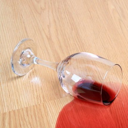 Red wine spill on Laminate floor | Flooring Concepts
